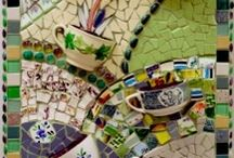 Mosaic and Pottery