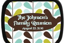 Reunion Party Favors / Give a party favor your family will cherish, and with no complaints!