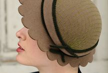Old style hat / #millinery