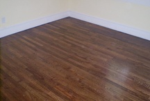 Sanding and Refinishing / Bring your old floors back to life!