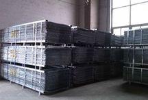 "Galvanized Metal Lath - 27""x84"" / 1.75 gauge and 2.5 gauge galvanized metal lath packed 10 per bundle, in 50 bundles, 500 sheets per pallet"