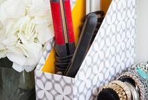 Organização - Banheiros / Aqui você vai poder se inspirar para organizar tudo o que precisa no seu banheiro!