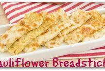 Cauliflower Breadsticks gluten-free grain-free / Cauliflower Breadsticks gluten-free grain-free