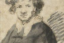Rembrandt Van Rijn (Disegni)