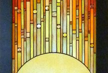 mosaic tablo