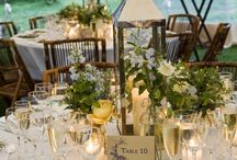 Wedding ideas / Colours, tables, themes for the wedding