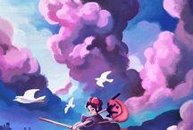 Ghibli Ilustrations