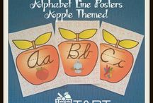 School~{Classroom Alphabet Sets}