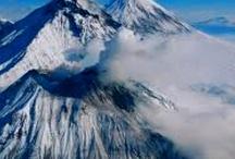 Вулканы (Volcanes) / На нашей планете еще много вулканов - это сила и красота одновременно. Поражаешься величию Создателя глядя на ЭТО.