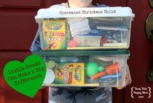 Operation Christmas Child/Operation Shoebox / by LaurieAnn Richard