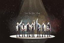 BTS concert fanart