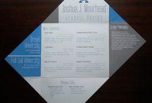 CV / Print / Work