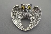 Owl Art / Artistic renderings of owls.