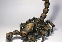 Animals and organisms robots