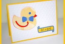 Baby Cards / All the cute cards for all the cute babies.