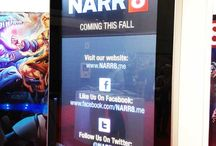 NARR8 | Trade Show Booth and iPad Display / NARR8 is an exciting mobile app and content channel that delivers a diverse array of interactive stories and motion comics for its readers. So when they decided to promote their extensive list of interactive comics and novels to 100,000+ attendees at New York Comic Con, they turned to Marketing Genome.
