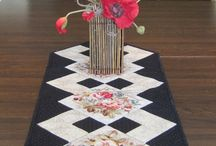 Table Runners and Napkins / How too's and just ideas for table linens.  A bit eclectic.