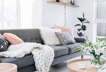 Scandi living room decor