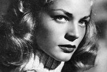 Lauren Bacall / style icon