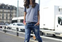 Jeans & Tshirt / Simple staple items with WOW effect