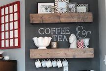 Зоны приготовления кофе