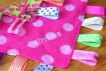 Personalised Taggie Blankets