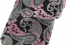 Soprano paisley silk ties