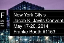 #ICFF New York 2014 / See Franke in Booth #1153 at #ICFF 2014.