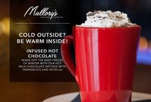 Specialty Winter Drinks / Ward off this deep freeze with a variety of specialty winter cocktails that Mallory's has created!