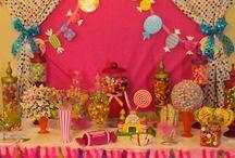 Storys 1st Birthday  / Candyland