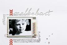 Christin Grønnslett -  Scrapbook layouts / #Scrapbooking #umenorskan #christin gronnslett, #Zva creative #pinkpaislee