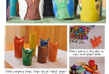Toilet Paper Tube Crafts / by Wendy Gibson