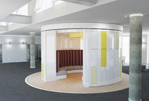 Combination designs / Spacestor's range of innovative lockers and work spaces, combining the latest agile working technology to provide a seamless working experience.