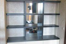 Дизайн-проект мебели для частной квартиры / Были разработаны и изготовлены несколько элементов мебели для частной квартиры.