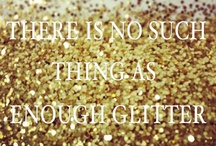 No such thing as too much glitter!
