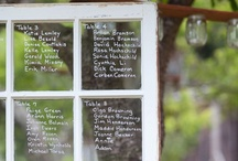 Seating Charts & Chalk Boards / How to let your guests know where to go