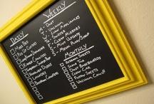 Chalk Boards! / by Jennifer Huggins