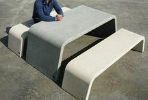 Concrete furniture project