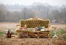 Boho Elegance / Wedding ideas that combine bohemian/ boho styles with elegance and whimsical romance / by French Wedding Style - Wedding Blog
