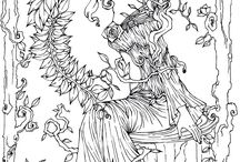 Lulu coloring pages