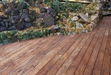 Decking / We provide great lumber for decking. It is the most durable of all decking materials on the market and it looks beautiful.