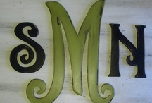 Initials / by Susan Shields