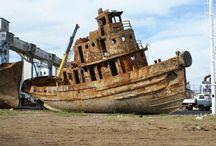 old ships - shipwrecks