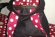Purses with frames / Sewing
