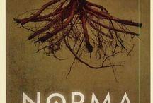 Opera posters. Bellini. Norma