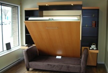 Vertical / Vertical wallbeds, pictures of space saving beds that fold up vertically.