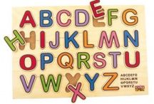 Letters & Numbers / It's essential  when your child begins to learn the letters & numbers of a language that he does it in an enjoyable way. This could be done in many ways but what could be easier and more fun than learning the alphabet and numbers in our way!  We have a variety of games & puzzles to help your child recognize his letters and numbers in an easy and delightful way. We'll stay with him step by step, starting from the basic abacus to telling the time and from recognizing letters to forming words.