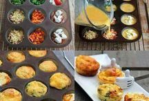 Omelettes-muffin