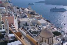 holidays in Greece / Santorini island