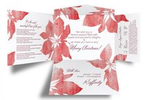eInvite Self Mailer Holiday Cards / Winning style pairs perfectly with a contemporary self mailer design, making your holiday greeting card unique! This easy to order self mailer, contains everything you need to send your message of joy this holiday season, and does so in elegant style.  http://www.einvite.com/holidays/
